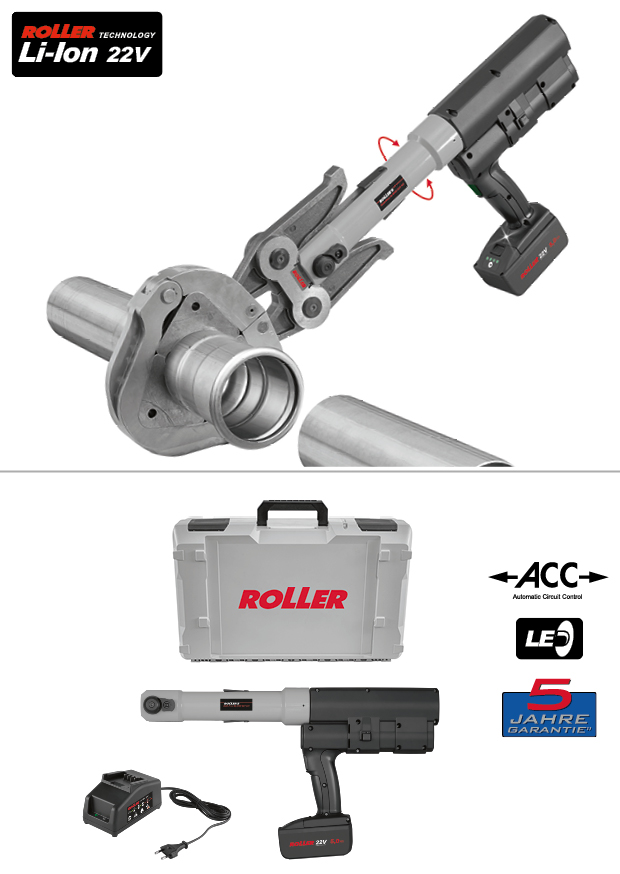 ROLLER'S Multi-Press XL 45kN 22V ACC