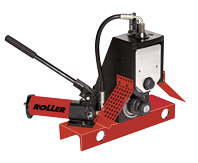 ROLLER\'S roll grooving attachment